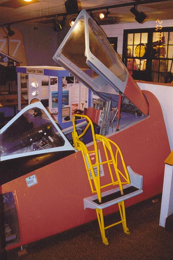 McChord Air Museums F-106 Delta Dart Simulator